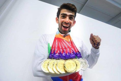 ملی پوشان سرافراز ایران بالاتر از ژاپن، سوم آسیا شدند + اسامی مدالآوران و جدول
