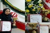 دریافت جام طلا و لوح زرین اروپا توسط نخبه شرکت آبفار لرستان