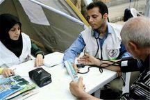 حضور تیم های پزشکی  در مناطق محروم البرز