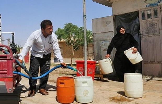قطعی و افت فشار آب موجب گله مندی شهروندان آبادان و خرمشهر شد
