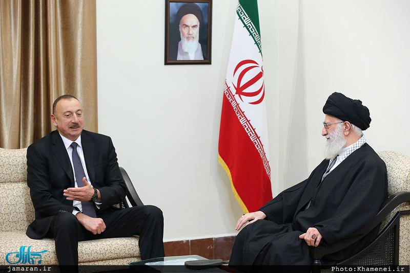 دیدار رئیس جمهوری آذربایجان با رهبر معظم انقلاب