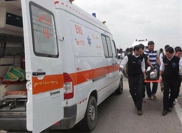 تصادف در جاده یزد - میبد پنج زخمی برجا گذاشت