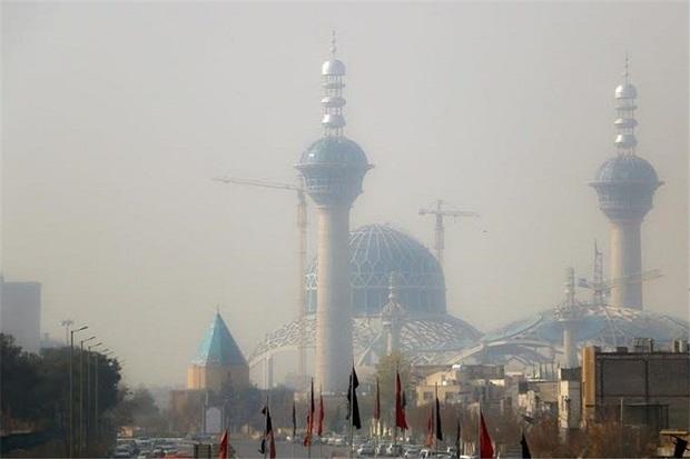 آلودگی هوای اصفهان در وضعیت قرمز قرار گرفت