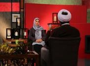 رزیتا غفاری با معروفترین روحانی در فضای مجازی گفت و گو کرد+ عکس