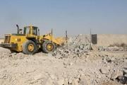 16 هزار متر مربع از اراضی ملی جهرم رفع تصرف شد