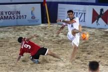 ایران در مسابقات آسیایی فوتبال ساحلی برای قهرمانی می جنگد