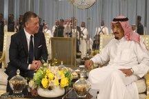پادشاه اردن با ملک سلمان در جده دیدار کرد