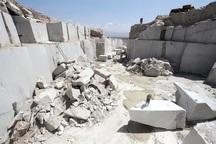 حدود 247 هزار تُن ماده معدنی در مهاباد استخراج شد