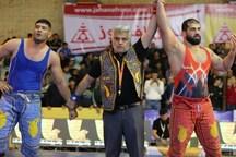 جابر صادقزاده دوباره پهلوان ایران شد