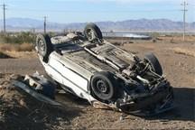 برخورد خودرو تیبا با شتر در جاده مهریز سه زخمی بر جا گذاشت