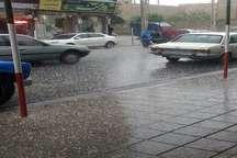 رگبار شدید باران و تگرگ در شمال آذربایجان غربی
