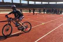 مسابقه دوچرخه سواری استعدادهای برتر خراسان رضوی برگزار شد