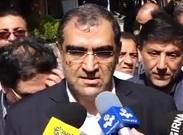 وزیر بهداشت از مرکز خدمات جامع سلامت «قروه» همدان بازدید کرد