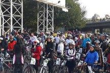 همایش بزرگ دوچرخه سواری عمومی در مشهد
