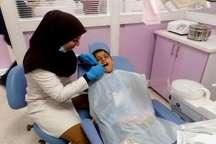 دانش آموزان اندیکا خدمات رایگان دندانپزشکی رادریافت کردند