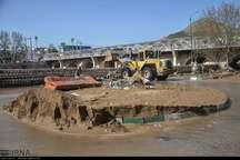 سیل 8500 میلیارد ریال به زیرساختهای شهر خرم آباد خسارت زد