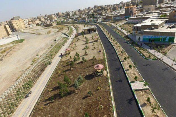 فاز اول پارک خطی بیرجند تا دهه فجر تکمیل میشود