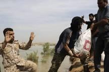 گروه جهادی 40 نفره و مدافعان حرم به منطقه عین اهواز اعزام شدند