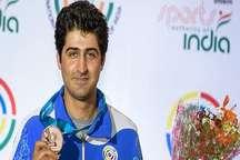 تیراندازشیرازی مدال برنز رقابت های جهانی هند را برد