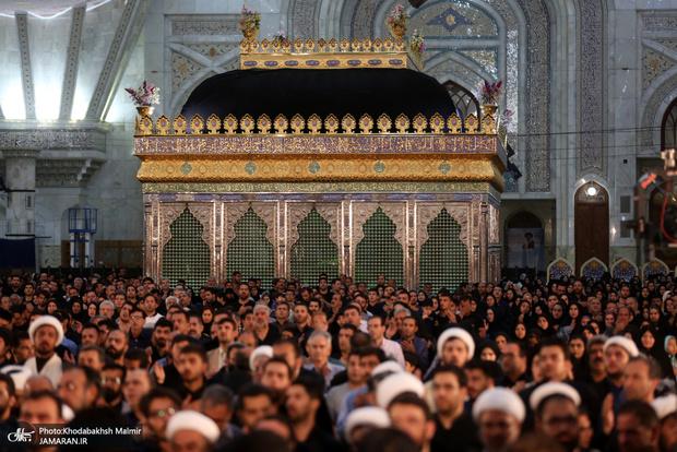 مراسم  احیای شب بیست و یکم ماه مبارک رمضان در حرم مطهر امام خمینی(س)
