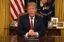اصرار ترامپ بر دیوارسازی در مرزهای آمریکا