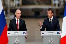 مکرون: امروز هیچ مساله مهمی بدون گفت وگو با روسیه قابل حل نیست
