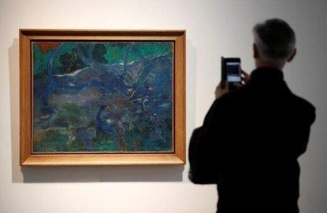 """نقاشی """"پل گوگن"""" در پاریس 9.5 میلیون یورو به فروش رسید"""