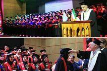 جشن تحلیف ۷۰ دانشجوی رشته پزشکی هرمزگان برگزار شد