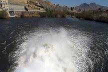 28 میلیون متر مکعب آب از سد مهاباد به دریاچه ارومیه رها شد