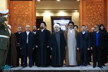 تجدید میثاق رئیس جمهور و اعضای هیئت دولت با آرمان های امام خمینی (س)