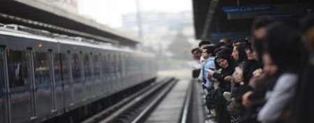 برق خط 5 مترو تهران قطع شد مهندسان در حال رفع نقص هستند
