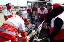امدادگران هلال احمر قزوین به 11 مصدوم امدادرسانی کردند