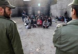 جمعآوری معتادان متجاهر و خردهفروشان مواد مخدر در ایرانشهر