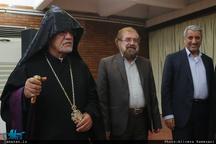 ضیافت افطاری اسقف اعظم ارامنه به مناسبت بزرگداشت امام خمینی(س)
