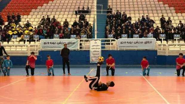 مسابقات فوتسال کارمندان کشور در مشهد آغاز شد