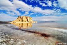 تبدیل 1030 کیلومتر از دریاچه ارومیه به پارک حیات وحش مهار 70 درصدی غبار نمک دریاچه ارومیه