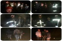 آتش نشانان سه جوان گم شده در جنگل های سراوان رشت را یافتند