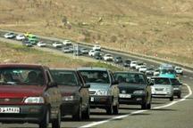 ترافیک در مسیرهای خروجی پایتخت پرحجم است