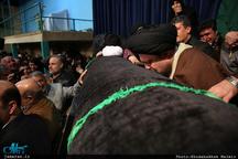 فیلم: وداع شبانه با پیکر آیت الله هاشمی (ره) در حسینیه جماران/ عزا عزاست امروز، روز عزاست امروز، خمینی بت شکن، صاحب عزاست امروز