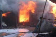 آتش سوزی در انبار بزرگ کالای خانگی در کرج با حدود 10 میلیارد خسارت
