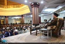 تقدیر سید حسن خمینی از رقم زنندگان پیروزی بر داعش/  یادگار امام: همه جا باید مقابل ظلم و ظالم ایستاد