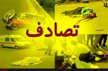 یک کشته در واژگونی خودرو در قزوین