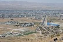 گرد و غبار  در راه زنجان