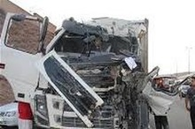 تصادف در محور آباده - اصفهان 2 کشته برجای گذاشت