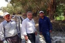 3.2 کیلومتر کانال انتقال آب در روستاهای چاراویماق احداث شد