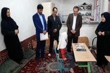 """معلم خوزستانی درس انسان دوستی داد  آموزش الفبا همراه درد و """"شیمیدرمانی"""""""