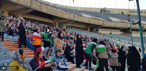 حضور زنان در ورزشگاه آزادی، اتفاقی ماندگار در تاریخ ایران بود