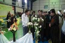 برگزاری کارگاه آموزشی گل سازی ویژه مددجویان کمیته امداد سروآباد