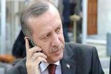 گفت وگوی تلفنی رجب طیب اردوغان و امیر قطر