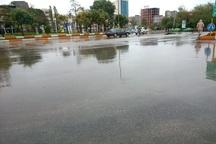 بارش باران بر زمین های تشنه اردبیل   هوا سردتر می شود